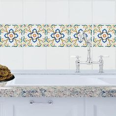 StickPretty Mosaic Salamanca tile decals transform kitchens or baths in minutes. Affordable and easy to apply, they're perfect for DIY renovations.