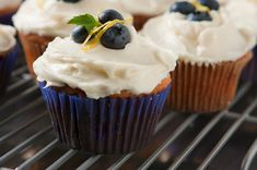 Blueberry lemon beer cupcake recipe