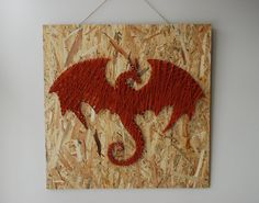 Dragon String Art Wooden Handmade by FILATURE on Etsy