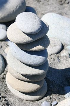 Talented, smooth, round rocks.
