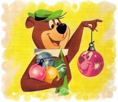 10 Best Yogi Bear Christmas Images In 2020 Yogi Bear Vintage Cartoon Hanna Barbera Cartoons