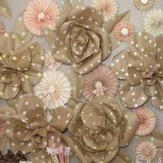 Kraft Paper Jumbo Roses