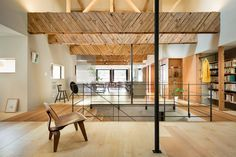 PUDDLE adapts former japanese 'kenban' into private residence