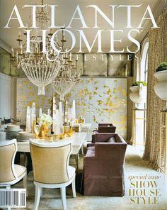 Melanie Turner   Decorator's Show House   Atlanta Homes and Lifestyles Magazine   BRADLEY   Esprit de Corps