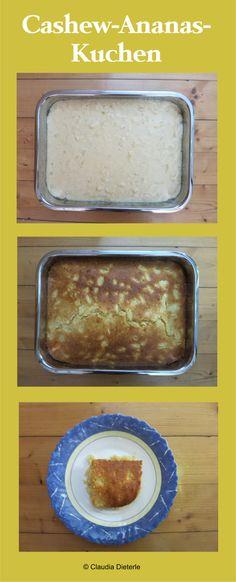 Cashew-Ananas-Kuchen