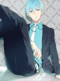 Kuroko no basuke. No clue what this is but Im in love with this picture