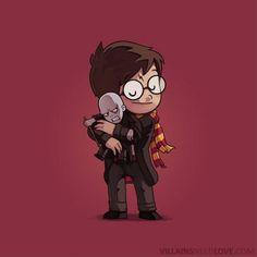 Villains Need Love : Harry Potter et Voldemort