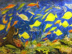 GALERIA PALOMO MARIA: SIRENITA.... Painting, Mermaid, Scenery, Painting Art, Paintings, Painted Canvas, Drawings