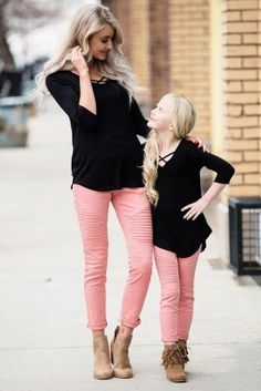 Mommy And Me Outfit Ideas 42 cute mommy and me outfits youll both want to wear Mommy And Me Outfit Ideas. Here is Mommy And Me Outfit Ideas for you. Mommy And Me Outfit Ideas mommy and me matching outfits mom and ba girl matching. Mom Daughter Matching Outfits, Mommy And Me Outfits, Family Outfits, Mother Daughter Pictures, Mother Daughter Fashion, Mother Daughters, Cheap Kids Clothes Online, Clothing Photography, Kids Fashion