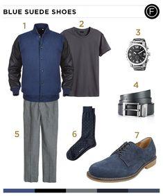 Will Arnett's Cool Blue Casual Look