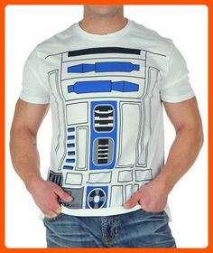 Mighty Fine I AM R2D2 MENS COSTUME TEE White M - Fun stuff and gift ideas (*Amazon Partner-Link)