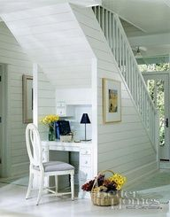 Cute use of under stair space
