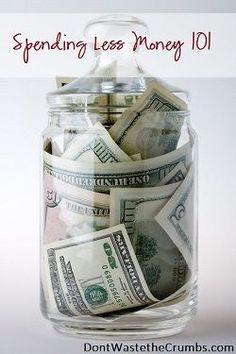 Huge collection of ideas for saving money, budget tips and spending less!