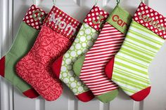 Sew Spoiled: Stocking Tutorial Collection
