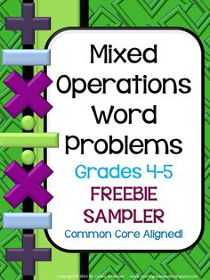 """math groups - My word problems have become """"go to"""" resources for problem solving in the classroom.my resources are unique in that the problems are presented in three different formats. Want to see? Check out this freebie! Math Strategies, Math Resources, Math Activities, Math Games, Math Tutor, Teaching Math, Teaching Ideas, Fifth Grade Math, Fourth Grade"""