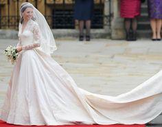 O vestido de noiva da Princesa
