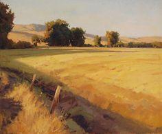 Golden Foothills. 24 x 20 in, oil. John Poon