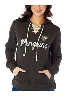 Pittsburgh Penguins Womens  Slub Fleece Hoodie