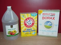 Easy homemade automatic dish washing detergent