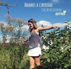 LIBERDADE... @loja_amei SER o que você quer SER fazendo o BEM sem saber a QUEM☁️ #lojaamei #liberdade #ser #bem