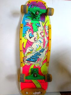 Vintage Nash Skateboard Large Size 1990 Retro by suburbantreasure, $65.00