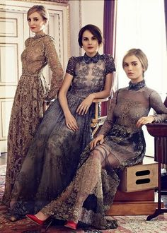 Sissa Noivas e Festas: Modelos de vestidos de festa -Downton Abbey