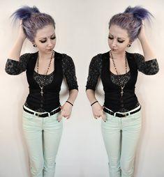 Lindex Leopard Shirt, Second Hand Vest, Gina Tricot Mint Jeans