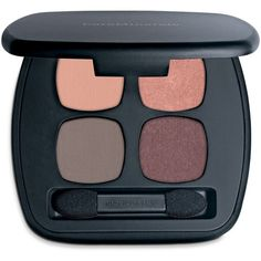 Bare Escentuals bareMinerals Ready Eyeshadow 4.0 (40 CAD) ❤ liked on Polyvore featuring beauty products, makeup, eye makeup, eyeshadow, the happy place, bare escentuals eye shadow, bare escentuals and bare escentuals eyeshadow