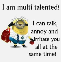Minion Quotes & Memes Top 40 Funny despicable me Minions Quotes Top 40 Funny despicable me Minions Quotes I love the minions . Lilo & Stitch Quotes, Amazing Animation Film for Children 32 Snarky and Funny Quotes - 30 Hilarious Minions Q. Funny Minion Pictures, Funny Minion Memes, Minions Quotes, Hilarious Memes, Funny Pics, Funny Images, Minion Sayings, Minions Pics, Minion Humor