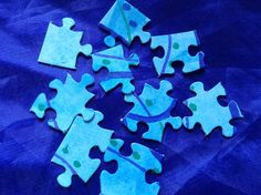 Jigsaw Piece Intercessions from Flame: Creative Children's Ministry
