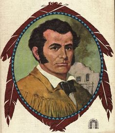 Jim Bowie, inventor of the Bowie Knife, Indian fighter and adventurer James Bowie, Biography Project, Texas Revolution, Davy Crockett, Moving To Texas, The Garrison, Western Comics, Texas Pride, War Comics