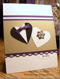 cute wedding card! @Patty Markison Markison Benal