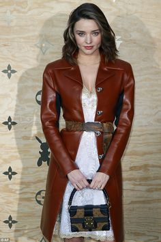 Miranda Kerr looks chic at Louis Vuitton bash in Paris #dailymail