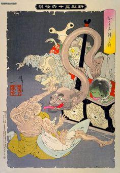 Tsukioka Yoshitoshi - Omoitsudzura