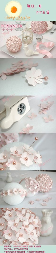 Easy decoration for wedding