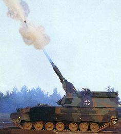 PzH 2000 self-propelled artillery