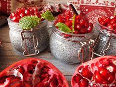 Gránátalmás chia puding – Tétova ínyenc