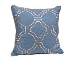 Michelle Hatch Circular Garden Pillow - Dering Hall