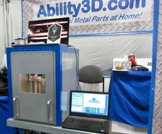 Ability 3D's Low Cost 3D Metal Printing Option #3DPrinting