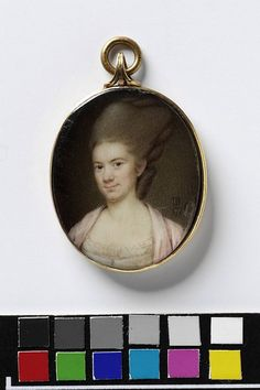 Portrait of an unknown woman    Object:  Miniature    Place of origin:  England, Great Britain (painted)    Date:  1776 (painted)    Artist/Maker:  Bogle, John