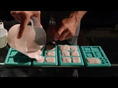 How to cast Hirst Arts molds (Dungeon Tiles & Doors) - YouTube