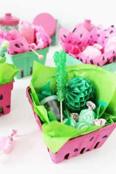 Watermelon Box Party Favors