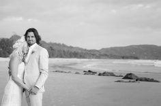 Costa Rica's Best Wedding Photographer www.jenniferharter.com Venue RocaMar. Design Malpais Green Weddings
