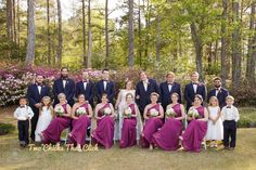 Kellie and Jared's Cape Fear Botanical Garden Wedding | Fayetteville, NC » My Blog