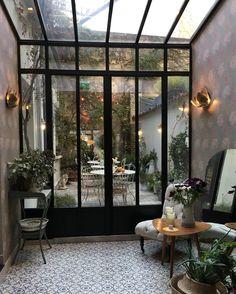 ✦   @anneclaire_maisonmargaret • instagram Black Windows, Bakery Design, Decoration, Instagram Posts, Room, House, Inspiration, Furniture, Home Decor