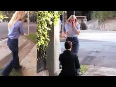 Is this the scariest marriage proposal you've ever seen?