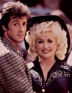 Still of Sylvester Stallone and Dolly Parton in Rhinestone (1984)