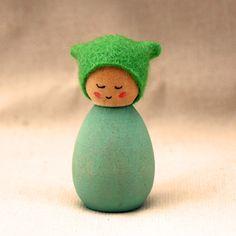 Cornish Pixie Elf  Tiny by CornishDragon on Etsy, £4.00