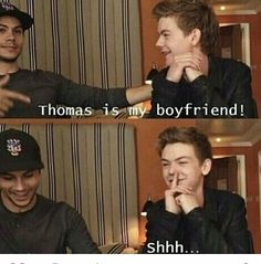 No Thomas is my husband