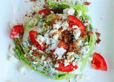 1 blue cheese cilantro wedge salad